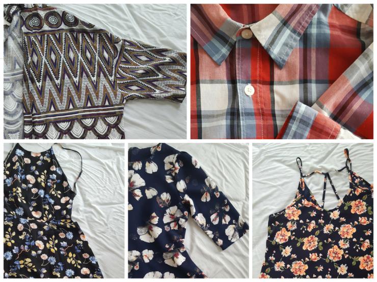 clothes - prints - closet